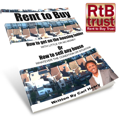 Rent to Buy Book written by Carl Henry